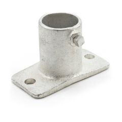 """Slip-Fit Adjustable Post Socket for Brick #4 1"""" Pipe with Stainless Steel Screw"""