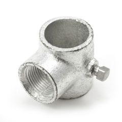 """Tee Slip with Stainless Steel Set Screw #4 3/4"""" Pipe"""