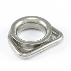 "SolaMesh Dee Ring Thimble Stainless Steel Type 316 8mm x 50mm (5/16"" X 2"")"