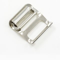 Steel Buckle #1020 Nickel Plated 1""