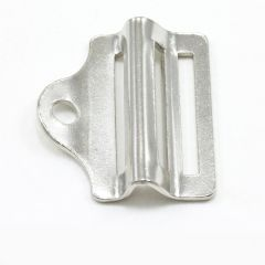 Steel Buckle #4042 Nickel Plated 1""