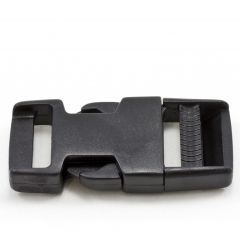 "Side Release Buckle #91408/91409 BSR 1"" Acetal Black"