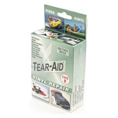 Tear-Aid Retail Patch Kit Vinyl Type B 20 Pack with Display
