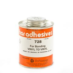 HAR Vinyl To Vinyl Adhesive 728 1-pt Brushtop Can