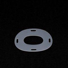 DOT Common Sense Washer 91-PS-78511-19 Plastic White 100-pk
