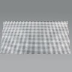 "Fluorescent Eggcrate Louvers #10 Acrylic 1/2"" x 1/2"" x 1/2"" Cell White 10-pk"