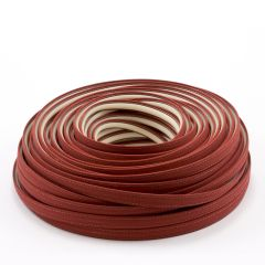 Steel Stitch Sunbrella® Covered ZipStrip w/ Tenara Thread 160' Terracotta 4622 (Full Rolls Only)