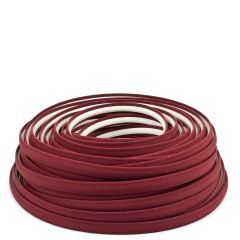 Steel Stitch Sunbrella® Covered ZipStrip w/ Tenara Thread 160' Burgundy 4631 (Full Rolls Only)