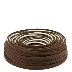 Steel Stitch Sunbrella® Covered ZipStrip w/ Tenara Thread 160' Brown 4621 (Full Rolls Only)