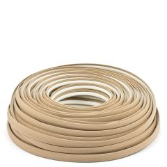 Steel Stitch Sunbrella Covered ZipStrip with Tenara Thread #4620 Beige 160' (Full Rolls Only)