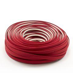 Steel Stitch Sunbrella® Covered ZipStrip 160' Jockey Red 6003 (Full Rolls Only)