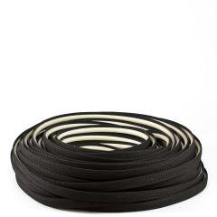 Steel Stitch Sunbrella® Covered ZipStrip 160' Black 6008 (Full Rolls Only)