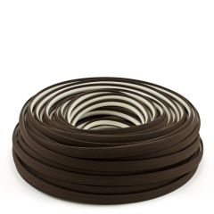 Steel Stitch Sunbrella® Covered ZipStrip 160' True Brown 6021 (Full Rolls Only)