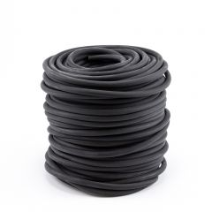 "Synthetic Rubber (EPDM) Rope 3/8"" Coil with 150 Double Eye Hooks 933037501 (200 feet)"