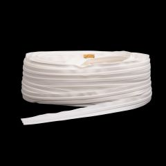 "YKK ZIPLON Chain #10CF 3/4"" Tape White 109-yd (Full Rolls Only)"