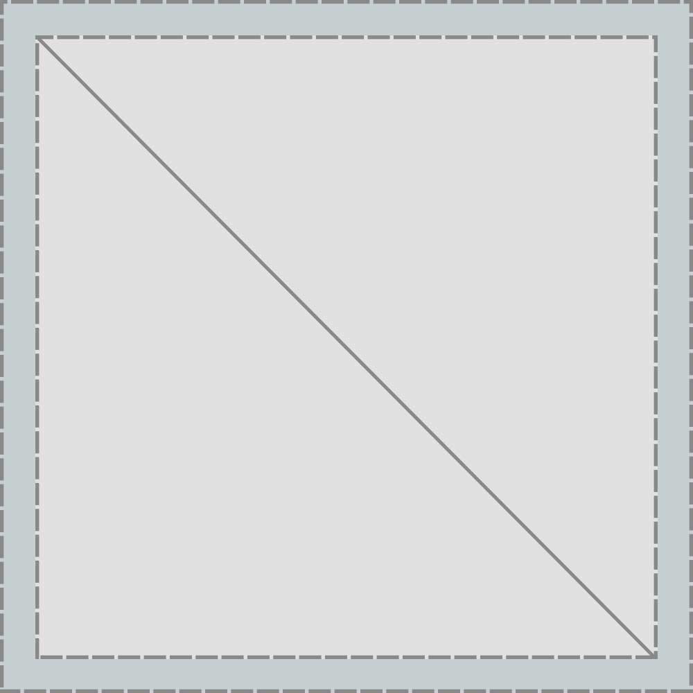 YKK VISLON #10 Metal Sliders #10VFDFW Non-Locking Short Single Pull Tab White