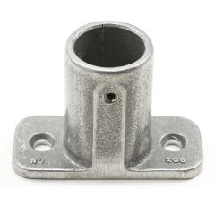 "Slip-Fit Adjustable Post Socket #4A-206L Aluminum 1"" Pipe"