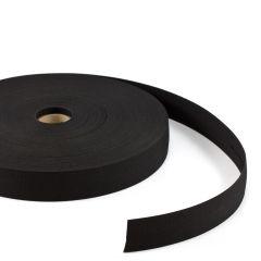 """Sunbrella® Facing 1-1/2"""" Black 4608 (60 yards)"""