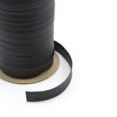 "Serge Ferrari Stamoid Binding 1"" Black 2ET (100 yards)"