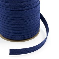 "Sunbrella® Binding Bias Cut 3/4"" Mediterranean Blue Tweed 4653 2ET (100 yards)"