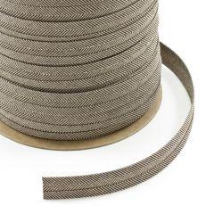 "Sunbrella® Binding Bias Cut 3/4"" Linen Tweed 4654 2ET (100 yards)"