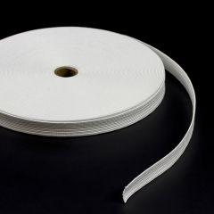 "Flat Elastic Braid S-2500 3/4"" Nylon White (36 yards)"