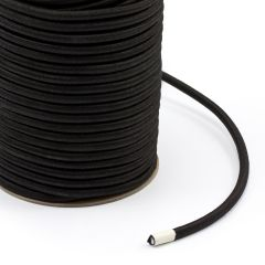 "Polypropylene Covered Elastic Cord 5/16"" M-5 Black (150 feet)"
