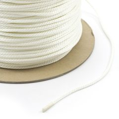 "Solid Braided Polyester Cord 5/32"" 5 (1000 feet)"