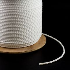 "3-Strand Polypropylene Rope 5/16"" White (1200 feet)"