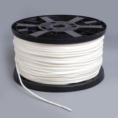 """Neobraid Polyester Cord 3/16"""" White 6 (1000 feet)"""