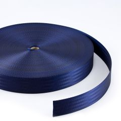 "Polyfab Shade Sail Edge Webbing 2"" Navy Blue (109 yards)"