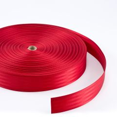 "Polyfab Shade Sail Edge Webbing 2"" Red (109 yards)"