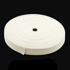 """Natural Untreated Class 1 Cotton Webbing Type I 1-1/2"""" (100 yards)"""