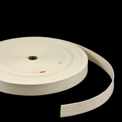 """Natural Untreated Class 1 Cotton Webbing Type II A 1-1/2"""" (60 yards)"""