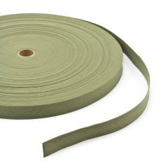 """Vat-Dyed Untreated Class 3 Cotton Webbing Type I 1"""" Olive Drab Shade #7 (100 yards)"""