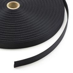 "Polyester Webbing 1"" Black U0017 (50 yards)"