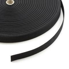 "Polypropylene Webbing 7166/P0001 1"" Black (100 yards)"