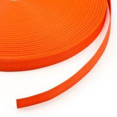 """Polypropylene Webbing 7166/P0001 1"""" Orange (100 yards)"""