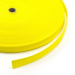 """Polypropylene Webbing 7166/P0001 1"""" Yellow (100 yards)"""