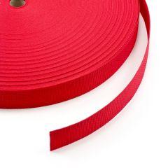 """Polypropylene Webbing 7166/P0001 1-1/2"""" Red (100 yards)"""