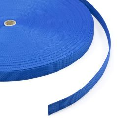 "Polypropylene Webbing 7390/PP002 1"" Blue (100 yards)"