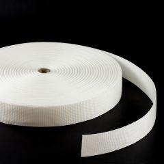 """Polypropylene Webbing 7166/P0001 2"""" White (100 yards)"""