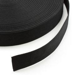 "Polypropylene Webbing 7166/P0001 2"" Black (100 yards)"