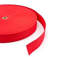 """Polypropylene Webbing 7166/P0001 2"""" Red (100 yards)"""
