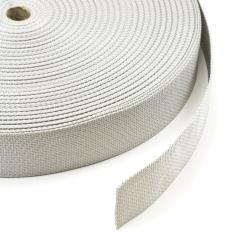"Polypropylene Webbing 7166/P0001 2"" Silver (100 yards)"