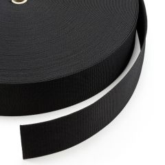 "Polypropylene Webbing 7390/PP002 3"" Black (100 yards)"