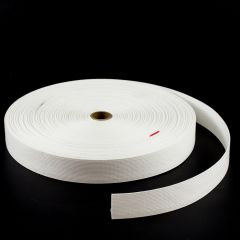 "Dacron Webbing S0009 1-1/2"" White (50 yards)"