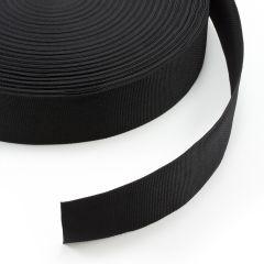 "Polypropylene Webbing 7166/P0001 3"" Black (100 yards)"