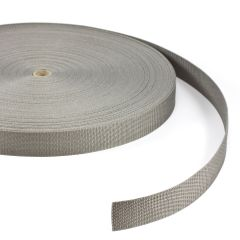 "Polypropylene Webbing 7390/PP002 1-1/2"" Gray (100 yards)"