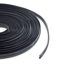 "Rubber Spray Welt 3/8"" x 3/4"" Black 3707-EP (100 feet) (Full Rolls Only)"